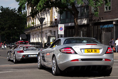 Silver Arrows. (Alex Penfold) Tags: auto camera slr london cars alex sports car sport mobile canon silver photography eos mercedes photo cool italian flickr image awesome flash picture super spot knightsbridge exotic photograph german mclaren porsche spotted hyper gt iv convoy supercar spotting numberplate exotica sportscar carrera sportscars supercars combo penfold spotter 1v 2011 hypercar 60d hypercars alexpenfold slr1v