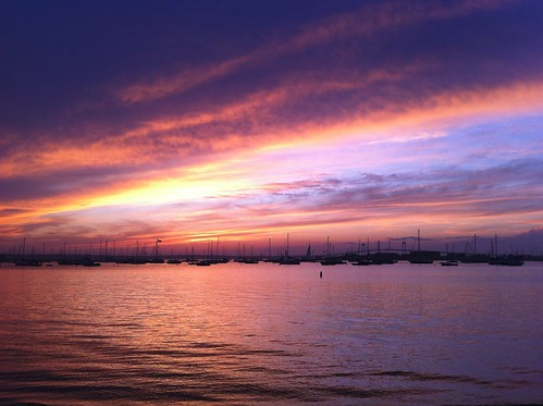 newport sunset 1