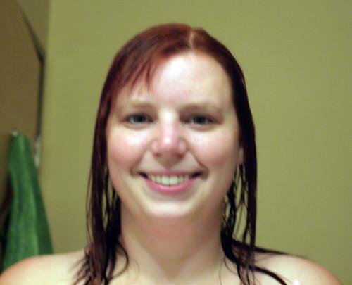 dryer wet hair