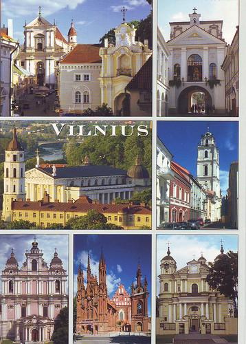Pastkarte no Lietuvas