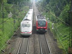 (DMdsW) Tags: ice train germany geotagged eisenbahn db german bahn 440 440537 fuggerexpress