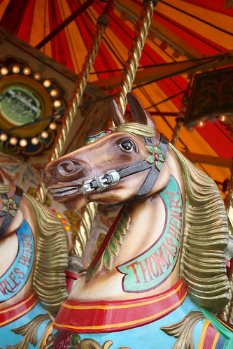 Carousel horse head 1