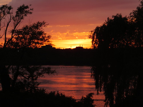 Sunset over Bluesfest