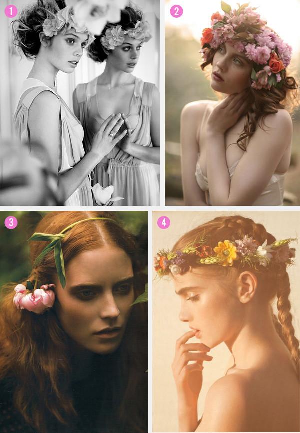 Omaha, Nebraska Wedding Planner hair-flowers_1