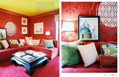 1 - The Red Room from Lonnymag JulyAug11, Interior Design Ideas and Inspiration
