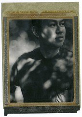 sunny observation (Engelfoto) Tags: film vintage polaroid 4x5 expired f4 f25 largeformat graflex type54 speedgraphic aeroektar 178mm