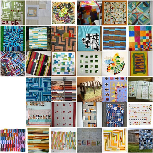 Inspiration Mosaic: For the Love of Solids [a modern swap]