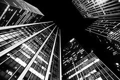 nacht turm (eb78) Tags: building architecture nyc newyorkcity urban city midtown manhattan bw blackandwhite monochrome greyscale grayscale explore