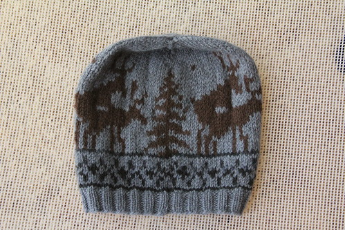 Frisky Reindeer Hat