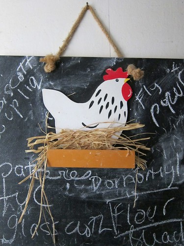 Chicken Blackboard by Danalynn C