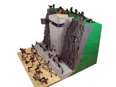 I.S.A. Assault (*Nobodycares*) Tags: door cliff beach wire lego wwii attack cliffs assault bunker worldwarii dio beaches ww2 guns pylons barbed normandy dday isa kz diorama worldwar2 sandbags killzone moc brickarms aww2 sluban brickforge kz3 kz2 tinytactical weirdwarii weirdwar2 awwii toys711