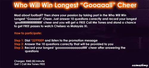Who Will Win Longest Gooaalll Cheer