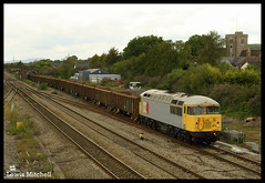 56311 Passes Magor 16th July 2011 (Lewis Mitchell Railways) Tags: grid cornwall cardiff railway junction class devon hoo tidal 56 magor dcr jn