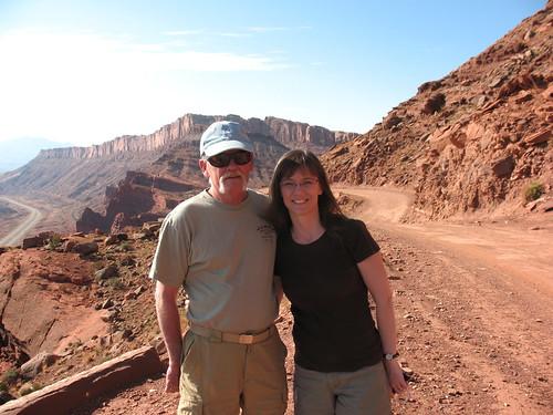 Relaxed, Moab, Utah, Gemini Bridges, Jeep