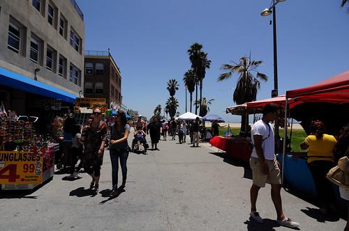 Ocean Front Walk in Venice Beach