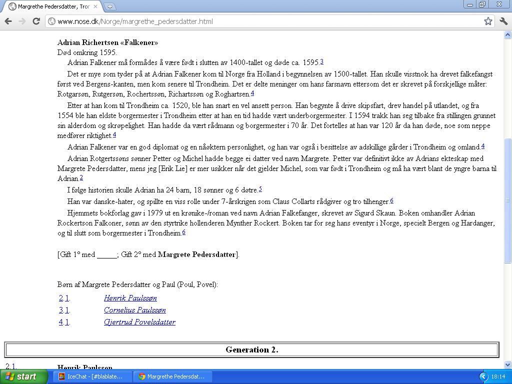 e9cfefd5 johncons: Jeg er visst også direkte etter han her, (Falkener), fant ...