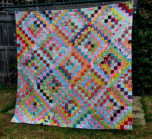 Quilt top on line