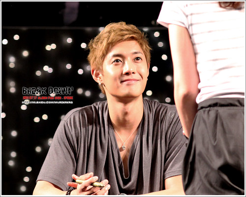 Kim Hyun Joong Fan Signing Event at iPark in Seoul  8