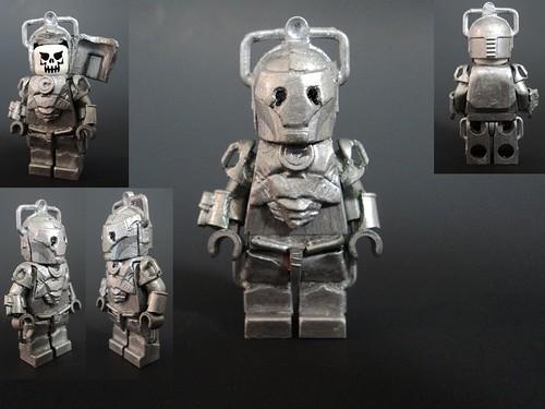 Custom minifig Cyberman