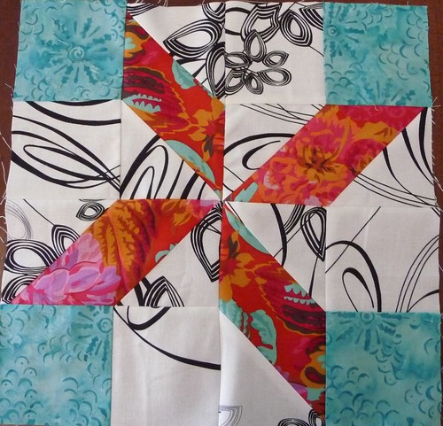 Mystery Quilt block 6