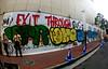 (J.F.C.) Tags: japan tom graffiti tokyo shibuya banksy want poke msk wanto vtr 246 aesk gkq exittroughthegiftshop