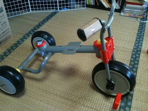 三輪車 ハンドル