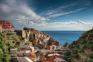 Village By The Sea - (Manarola, Cinque Terre, Italy)
