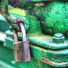 The lock - HDR (Margall photography) Tags: old green metal zeiss photography 50mm lock jena carl m42 marco f28 hdr tessar galletto margall