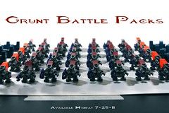 Grunt Battle Packs Available 7-25-11 (BrickTechStudios) Tags: new 2 3 alexandria army 1 marine jackal lego 4 halo battle pack elite pistol hunter plasma hornet combat grunt mombasa brute evolved spiker covenant needler odst
