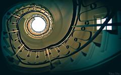 Escalatour (Chris Dve) Tags: chris france architecture grain normandie chateau escalier batiment lightroom traitement dxofilmpack sonyalpha850 montsaintlger chrisdve dve