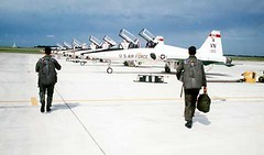 On the Vance Flight Line