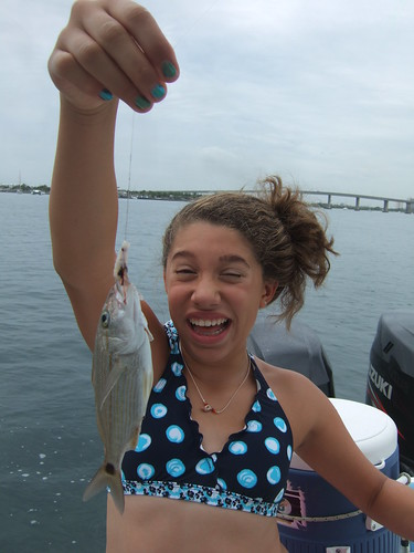 Davina catches another fish