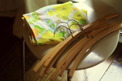 pillowcase + hangers