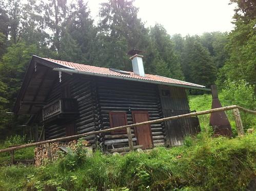 """Wanderung """"Wassertal Rundweg"""" - die Diessener Hütte"""