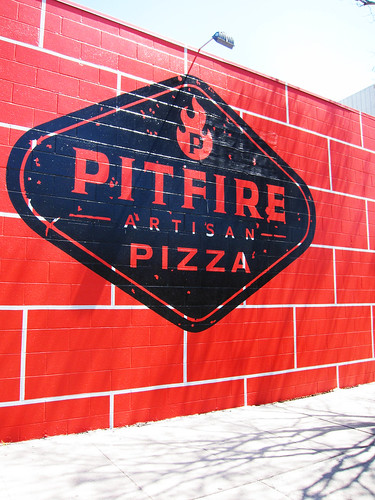 Lunch at Pitfire Pizza