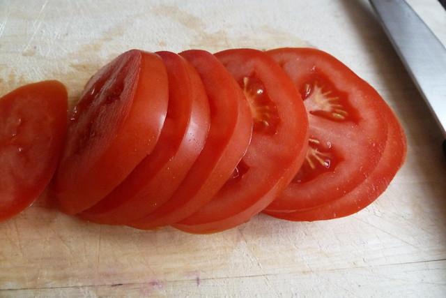 Ντομάτα σε ροδέλες