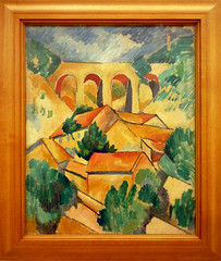 Braque, Viaduct at L'Estaque Framed