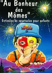 Affiche Festival Au Bonheur des Mômes-1992