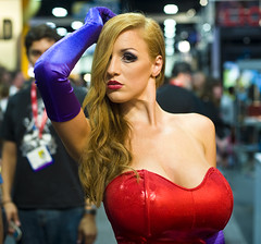 Comic-Con 2011  Jessica Rabbit *Explored* (Onigun) Tags: california costumes summer comics photography sandiego cosplay event socal convention popculture comiccon sdcc sandiegocomiccon sandiegocomicconinternational populararts jordancarver onigun