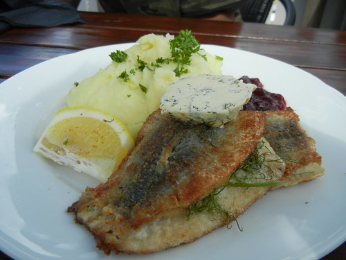 Herring at Marina cafe