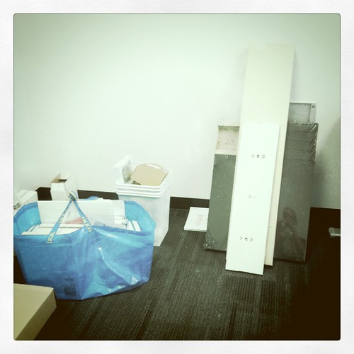 Monday: IKEA loot for new office