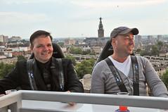 110721 215 Nijmeegse Vierdaagse, Sky bar (Hans de Regt) Tags: nijmegen wandelen nederland nl skybar gelderland vierdaagse bavariabeer hansderegt hderegt fourdaymarches hollandcasinonijmegen nijmeegsevierdaagse2011 andrvanlente frankhenselmans
