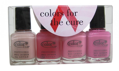 Color Club Colors of the Cure (mini set of 4)