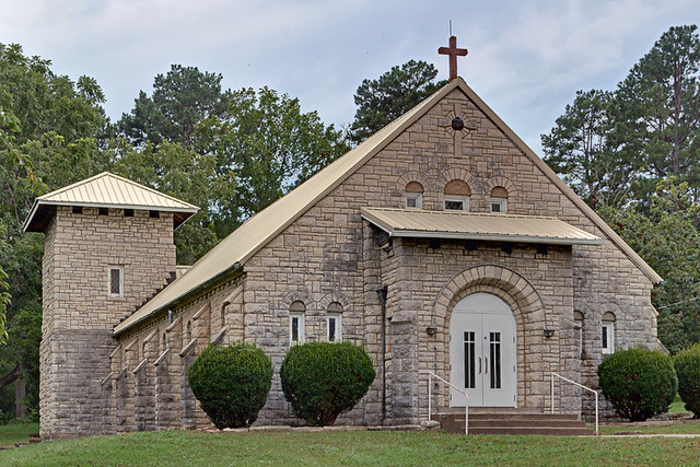 Saint Joseph Roman Catholic Church, in Tiff, Missouri, USA - exterior