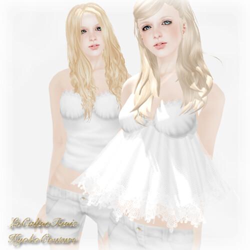 LaCalineTunic White
