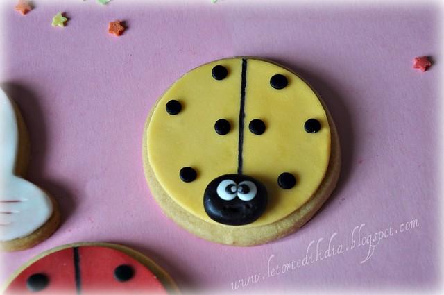 Biscotti decorati : Coccinella