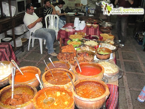 Guatemala's Traditional Food Buffet