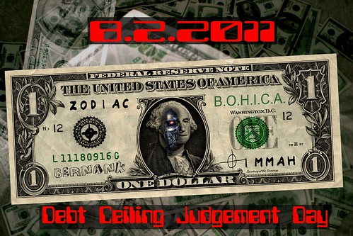 DEBT CEILING JUDGEMENT DAY by Colonel Flick