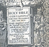 The Holy Bible containing the Old Testament and the New: newly translated out of the originall tongues ... Edinburgh, 1633. Detail.
