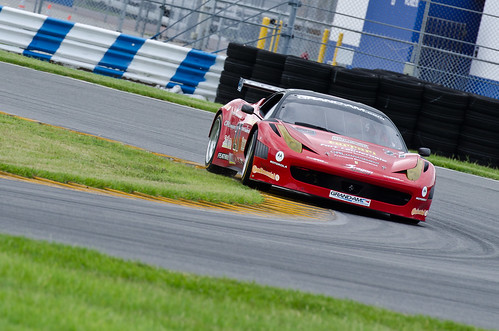 Daytona 2011 - GRAND-AM Rolex Sports Car Series Test - Ferrari 458GT